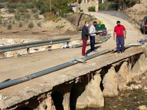 Puente de Los Molinos del Tajo.