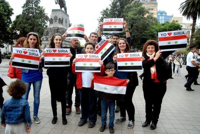 Resultado de imagen para actos conmemorativos de la independencia de siria en argentina