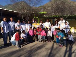 Voluntarios de Kimberly-Clark remodelaron jardín de infantes en Huechuraba junto a la Fundación UnitedWay