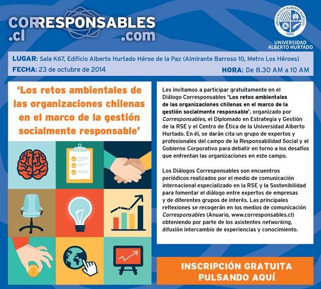 Diálogo sobre retos ambientales en organizaciones chilenas