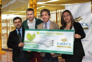 Barrick Zaldívar recibe Sello Zero E-Waste
