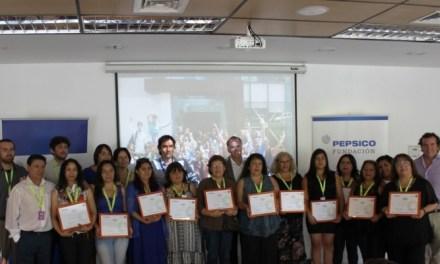 Programa Avanza apoyado por Pepsico tiene nuevos emprendores graduados