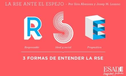 La RSE ante el espejo. Por de Sira Abenoza @sirabenoza y Josep M. Lozano @JosepMLozano de @ESADEisocial