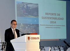 Codelco invirtió 364 millones de dólares en sustentabilidad en 2014