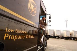 UPS aumentará vehículos con combustible alternativo