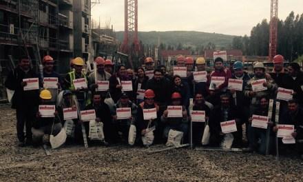 Casi 1500 trabajadores de la construcción se han capacitado con el proyecto Hogar+