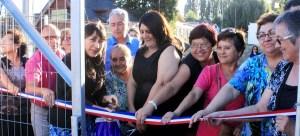 Inauguran nuevas obras construidas en comunidad en barrios de la reconstrucción