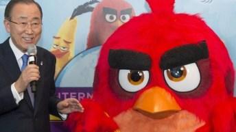 ONU nombra a Angry Birds embajadores honorarios para el medioambiente