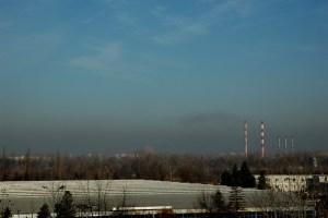 contaminación en Santiago