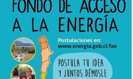 Se abrieron las postulaciones al Fondo de Acceso a la Energía 2016
