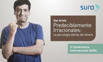 Experto en economía conductual Dan Ariely dicta conferencia en el marco de la gira internacional de SURA Asset Management