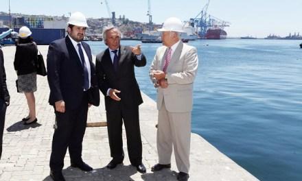 Subsecretario de Transportes se reúne con Directorio de Puerto Valparaíso y conoce avance del proceso ambiental de proyecto Terminal 2