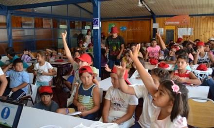 """""""La Energía del Verano"""" reúne a más 100 estudiantes en  las Escuelas Abiertas de la ciudad de Los Andes"""
