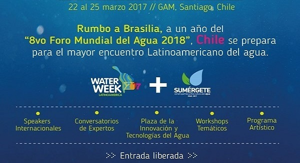 Expertos nacionales e internacionales analizarán el gran tema del agua