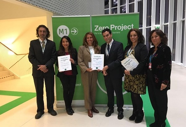 Fundación Descúbreme recibe premio internacional en Viena