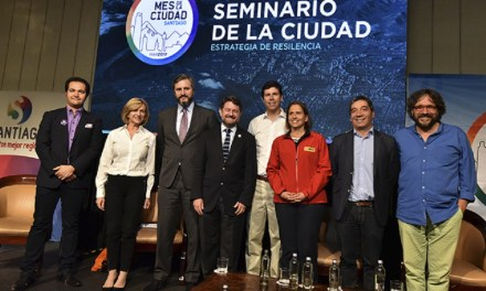 Santiago presenta su primera Estrategia de Resiliencia y compromete 10% del presupuesto de la ciudad para construir resiliencia