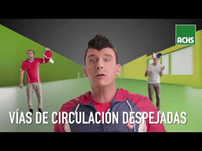 Nuevo video de Stefan Kramer y Asociación Chile de Seguridad presenta campaña de seguridad