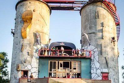 De una construcción abandonada a un parque de escalada público de nivel internacional