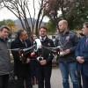 Gobierno anuncia uso de drones para fiscalización de calefactores a leña en Santiago