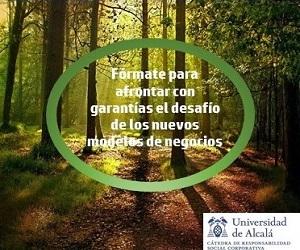Máster en Responsabilidad Social Corporativa y Liderazgo de la Universidad Pública de Alcalá