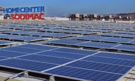 Sodimac anunció plan para la instalación de paneles solares en el 80% de sus instalaciones en el país