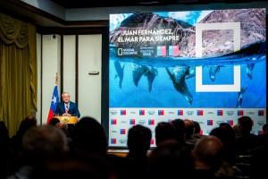 National Geographic estrenó documental sobre nuevo Parque Marino Juan Fernández con altas autoridades del país