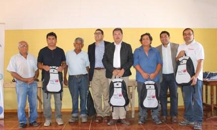 Pirquineros de Petorca reciben kit solar portátil para apoyar sus labores