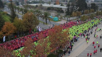 Corrida Reebok Versus Run 10K se realizará por segunda vez en Chile