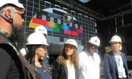 Ministerio de Energía y SEC fiscalizan recinto de Lollapalooza en la previa del masivo festival