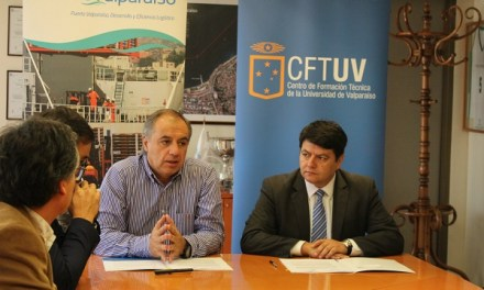 EPV y CFT de la Universidad de Valparaíso firman convenio de cooperación en ámbitos de capacitación y cooperación técnica
