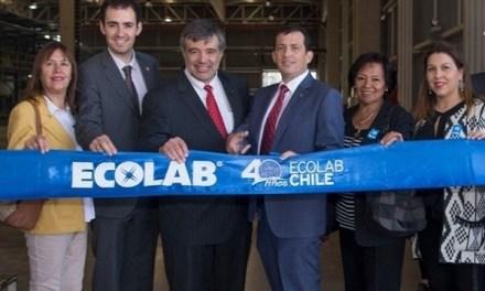Ecolab inauguró su nueva planta de producción en Chile