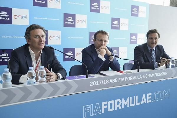 ENEL expande compromiso con la Fórmula E como socio oficial de carga inteligente y de energía