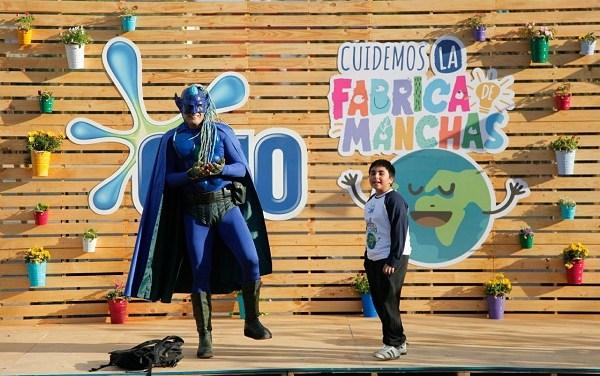"""""""Niño Planeta"""" celebra el Día Mundial del Reciclaje inaugurando """"La Fábrica de manchas"""", circuito de talleres sustentables"""