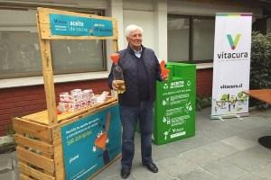 Vitacura apuesta por el reciclaje: hasta el aceite de cocina tendrá una segunda vida