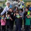 Brigada Metroambientalista suma a estudiantes de Peñalolén a la educación medioambiental y la eficiencia energética