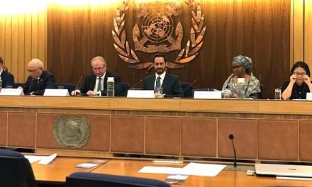 EPV expone buenas prácticas logísticas enevento de la Organización Marítima Internacional