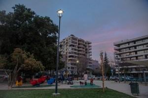 Providencia incorpora iluminación pública que ahorra un 73,7% de energía