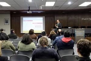 Workshop con comunidad portuaria de Valparaíso abordó nuevas tecnologías y puertos del futuro