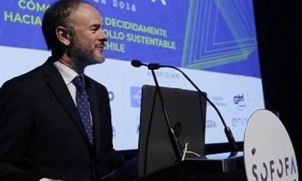 """""""La sustentabilidad de una empresa va de la mano de la rentabilidad"""", Bernardo Larraín, presidente Sofofa"""