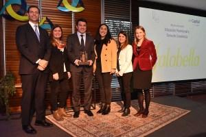 Falabella es premiada por promover educación previsional en sus colaboradores