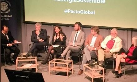 """Pacto Global Red Chile organizó Encuentro de Medio Ambiente: """"Energía como motor para el desarrollo sostenible"""""""