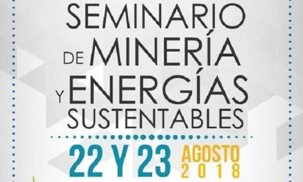 Destacados expositores participarán en el Primer Seminario de Minería y Energía Sustentable que se realizará en Calle Larga