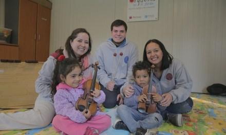 Integra y FOJI lanzan programa de aprendizaje musical para niños desde los 6 meses