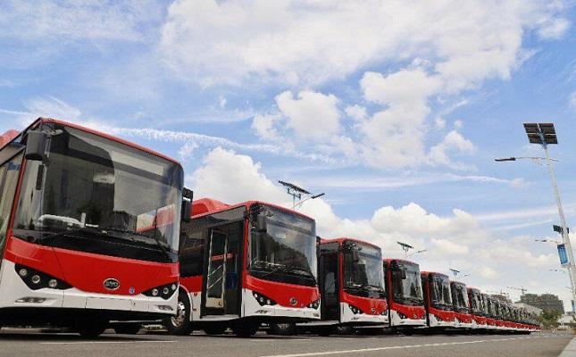 Primeros 100 buses eléctricos financiados por Enel X se incorporarán a sistema de transporte público de Santiago