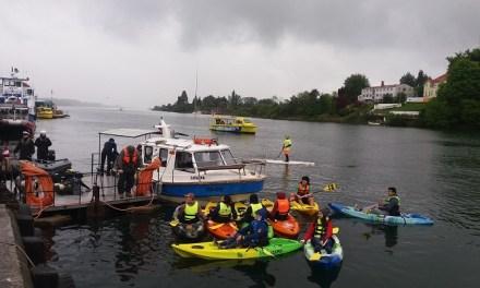 Organizaciones se unen para descontaminar el río Valdivia