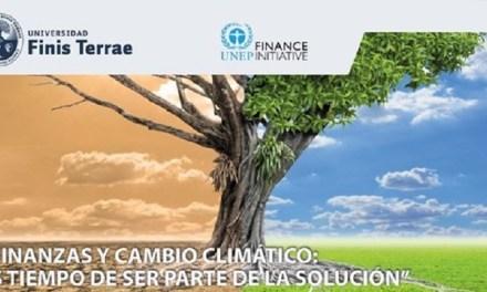 Finis Terrae suscribe inédito acuerdo coniniciativa financiera de ONU Ambiente