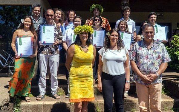 Empresarios turísticos de Rapa Nui reciben por primera vez distinción de sustentabilidad