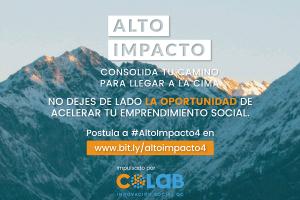 Alto Impacto abre convocatoria para acelerar emprendimientos sociales
