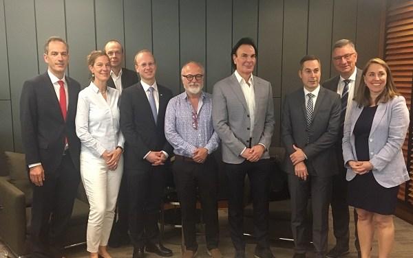 Johann Feckl asume como nuevo presidente de Fraunhofer Chile Research