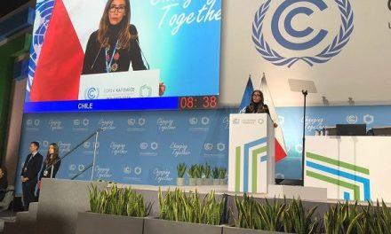 Ministra Schmidt compromete actualizar meta de reducción de emisiones en conferencia más importante del mundo sobre cambio climático